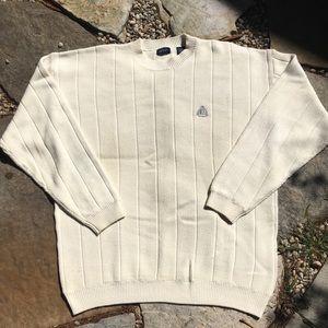 IZOD Ultimate Rib Crested Dad Sweater